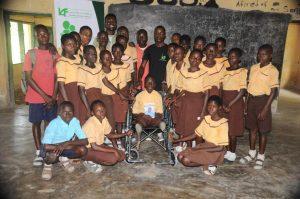 GodKnows Atata and his classmates