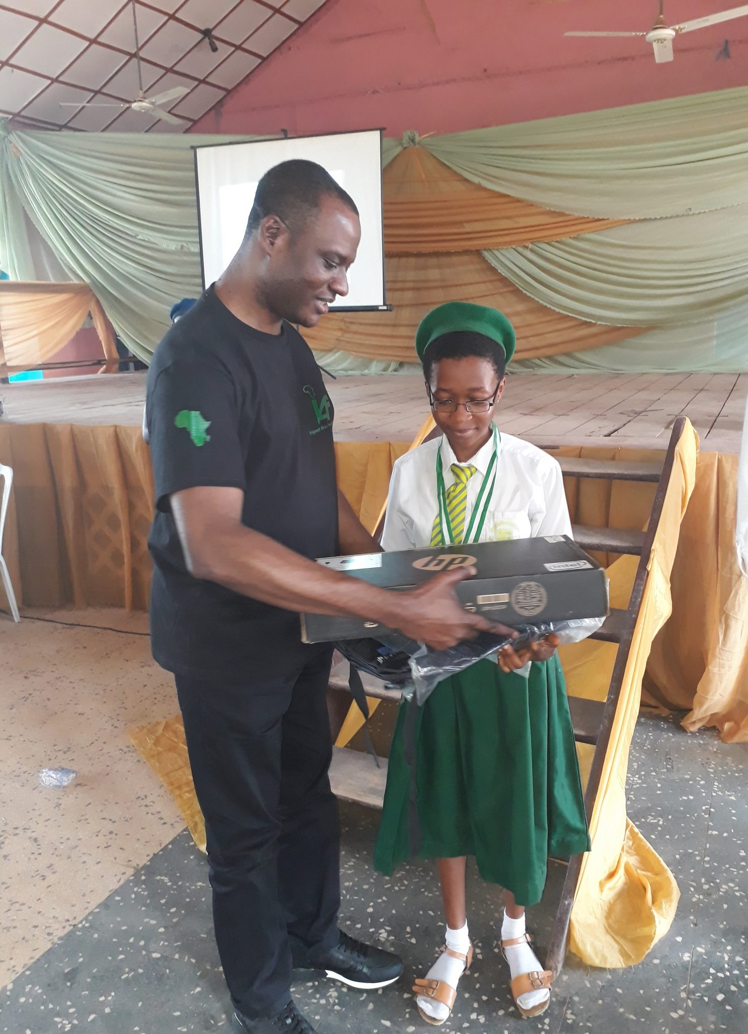 1st position Busaur Aminat represented Ijebu Muslim College